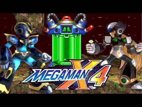 Mega Man X4 - All Items Locations (Hearts - Subtanks - Armors) Ultimate  Armor + Black Zero