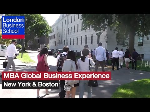 MBA Global Business Experience: New York & Boston | London Business School