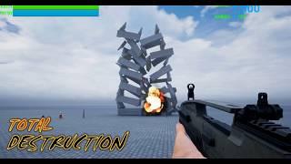 """Game """"Nextgen Sandbox"""" Intro Unreal Engine"""