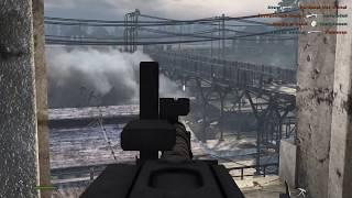Red Orchestra 2 - 67 kills defending machine gunner Station