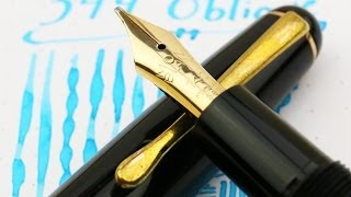 Vintage Montblanc 344 - Piston Filler - Flexible Oblique Nib