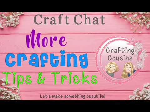 MORE TIPS & TRICKS FOR CRAFTING| General Craft Tips & Tricks | DIY Hints & Helps Paper Crafting