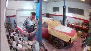 300ce Renovationt Painting W124 Coupe