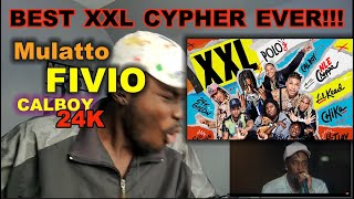 Fivio Foreign, Calboy, 24kGoldn and Mulatto's 2020 XXL Freshman Cypher [REACTION]