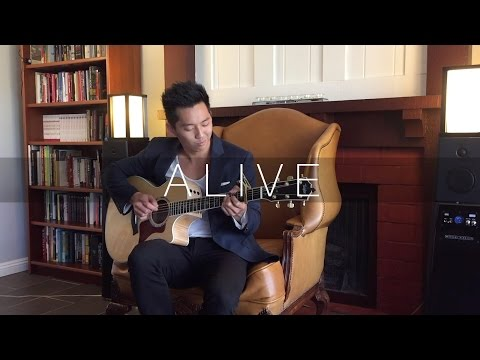 Alive (Hillsong Young & Free) - Fingerstyle Acoustic Guitar Cover