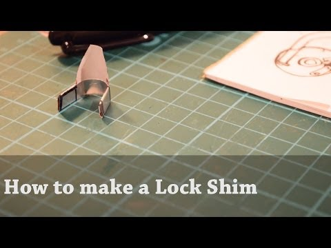 How to Make a Simple Lock Shim