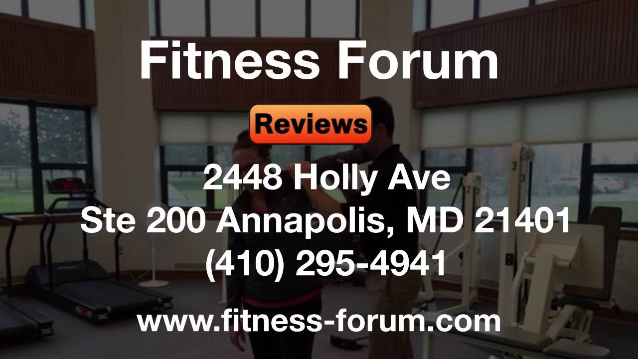 Fitness forum annapolis