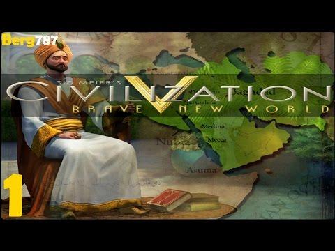 Civilization 5 | Lets Play Arabia | Deity | Piety | #1