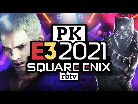 E3 2021 | Square Enix PK: Final Fantasy Origins, Guardians of the Galaxy, Babylon's Fall, Panther
