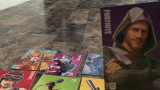 Ma collection de cartes Fortnite!