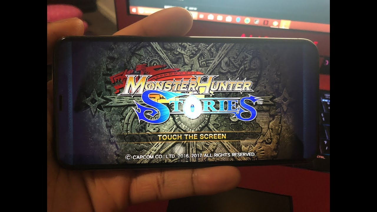 Gaming on the iPhone Xs Max: Monster Hunter Stories