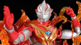 Ultra-Act Ultraman Mebius Mebius Burning Brave Review