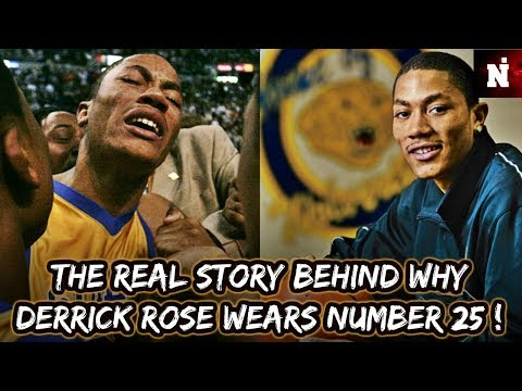 The Real Story Behind Why Derrick Rose Wears Number 25!