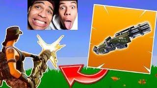 DIE NEUE MINI-GUN WAFFE IST HEFTIG! | Fortnite Battle Royale | PrankBrosGames