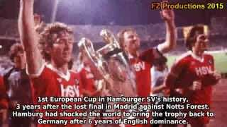 1982-1983 European Cup: Hamburger SV All Goals (Road to Victory)