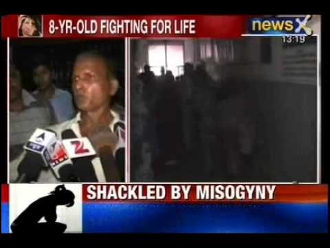 India Shamed: Rape victim Minor girl in critical condition in Faizabad, UP