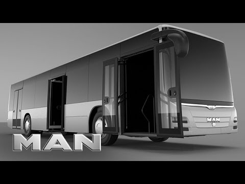 MAN - Pneumatic door motor for buses (English version)
