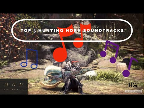 MHW ICEBORNE: Top 5 Mod Soundtracks For Hunting Horn   Mod Showcase