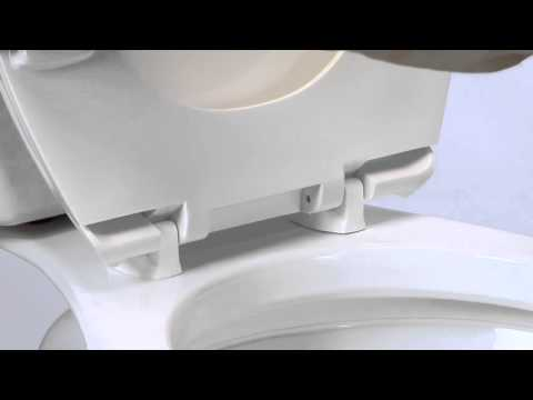 Bemis Just Lift 174 Toilet Seat Youtube