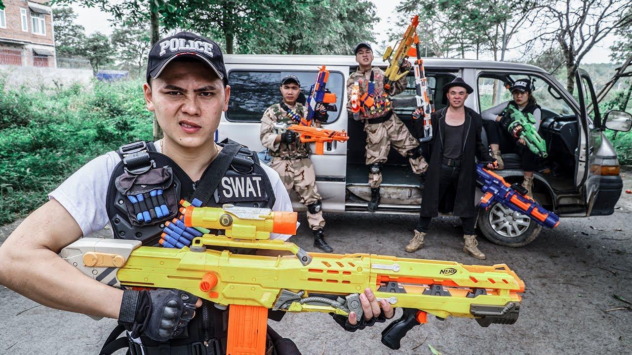 LTT Game Nerf War : Warriors SEAL X Nerf Guns Fight Villa Of Death Group Rocket Crazy 2