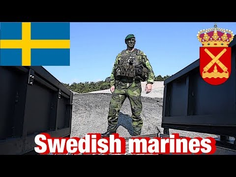 #SWEDISH #MARINES MEET THE #US MARINES