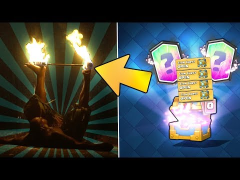 DID HE BURN?! & CLAN CHEST LEGENDARY HUNT! | Clash Royale | HAWAII TIME & CHEST OPENING