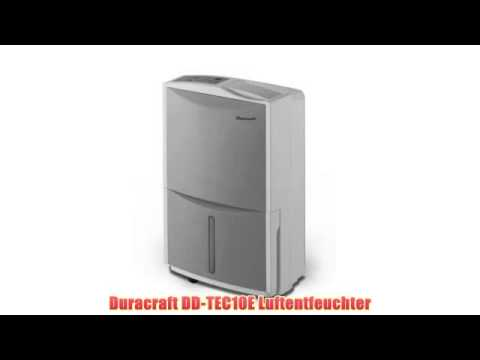 gut duracraft dd tec10e luftentfeuchter voll youtube. Black Bedroom Furniture Sets. Home Design Ideas