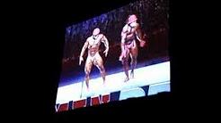 Bodybuilder-dancers
