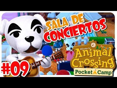 SALA DE CONCIERTOS PARA TOTAKEKE #09 ANIMAL CROSSING POCKET CAMP