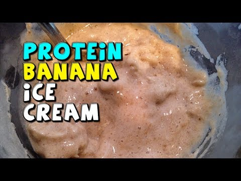 PROTEIN Banana Ice Cream Recipe! (No fat/High Fiber!)
