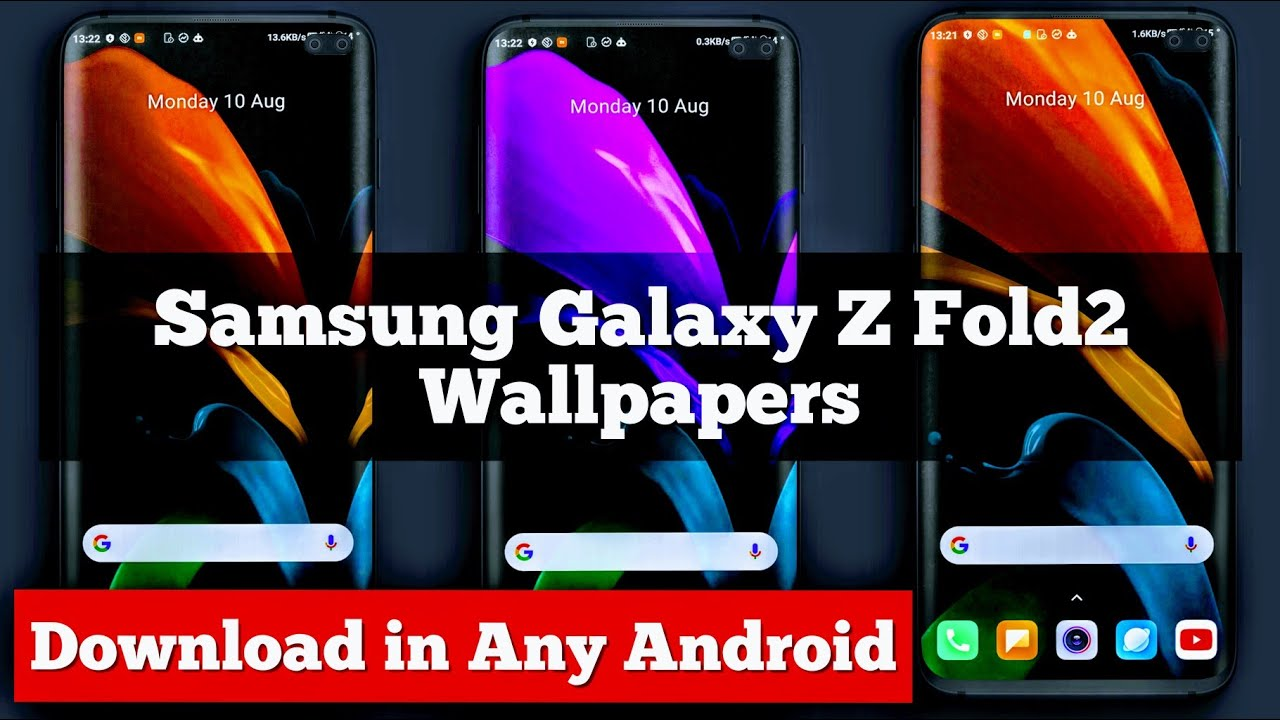 Samsung Galaxy Z Fold2 Wallpapers Download Samsung Galaxy Z Fold2 Wallpapers Youtube