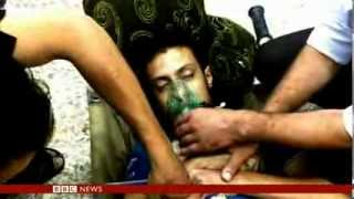 ALLEGGED SYRIA TOXIC ATTACKS - BBC NEWS