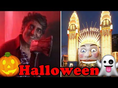 Luna Park Sydney Scary Halloween Adventure! 🎃👻