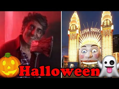 Luna Park Sydney Scary Halloween Adventure! 🎃👻