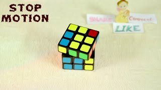 Rubik's Cube World Record STOP MOTION
