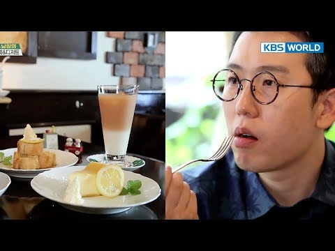 Coffee & Dessert at the cafe from movie 'A Stitch of Life'! [Battle Trip/2017.10.08]