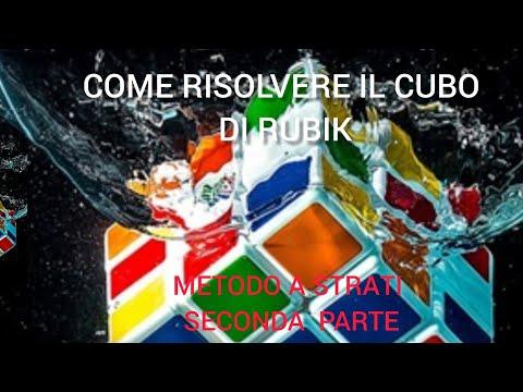 Come risolvere il cubo di Rubik ( seconda parte )