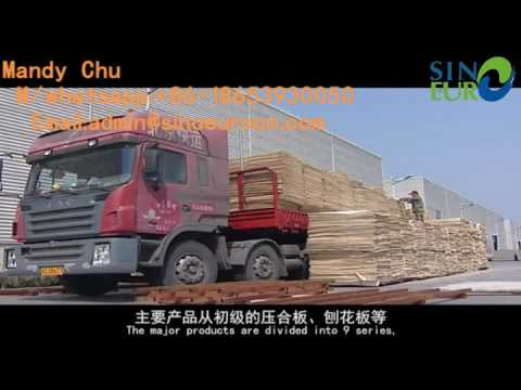 plywood machinery wood based panels machinery supplier in linyi sinoeuro machinery