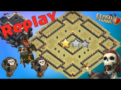 Th9 War Base 2019 Anti 2 Star With Replay Anti Lavaloon Anti Everything-Anti Valkyrie Anti 3 Star