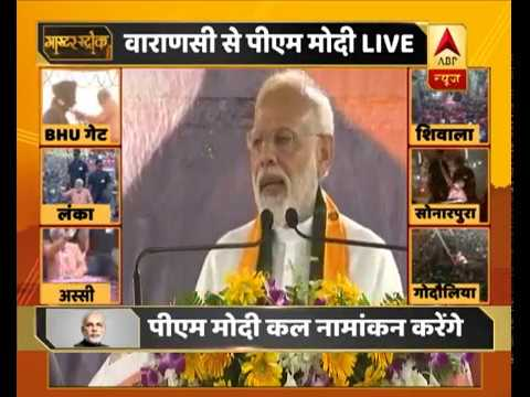 Modi in Varanasi: No attack on holy sites in 5 years