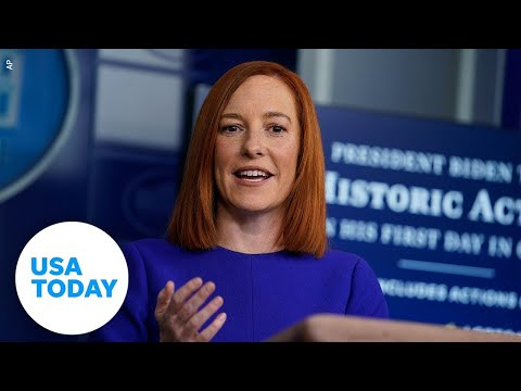 Jen Psaki holds White House Briefing Friday | USA Today