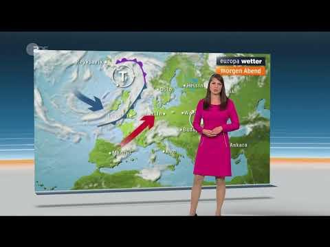Christa Stipp - Wettervorhersage vom 6. August 2018