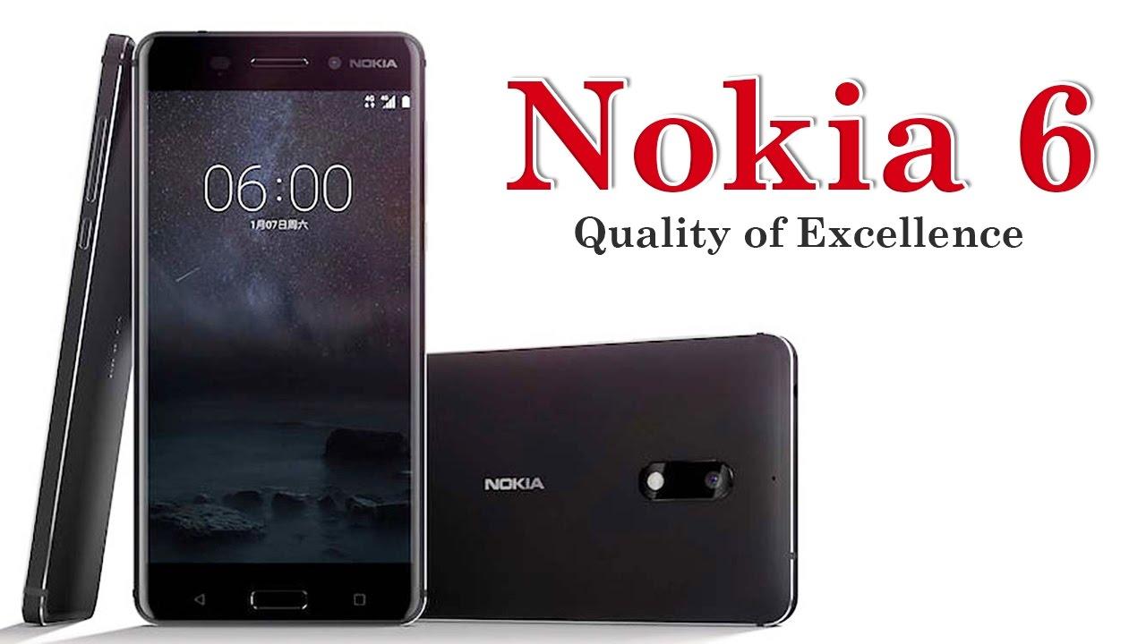 Nokia 6 Black 64GB Dual SIm