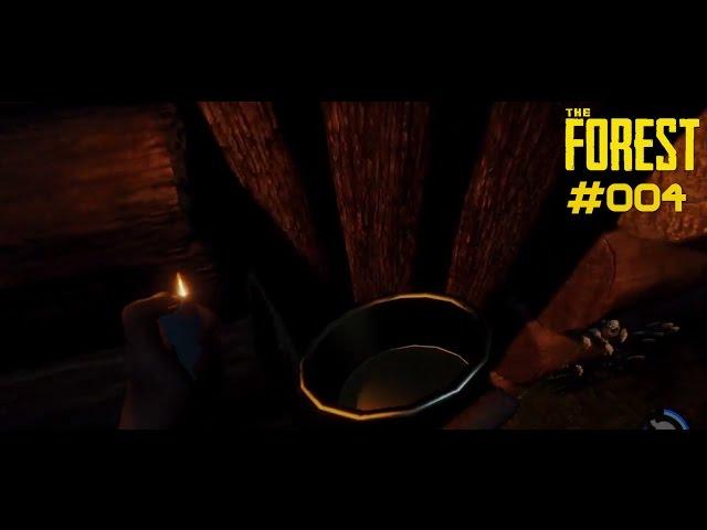 Let's Play The Forest | Vorräte und Kaputte Türen | Folge #004