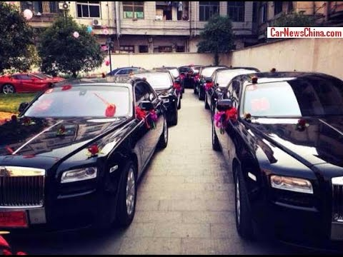 Wedding Full Of Exotic Cars Svadba Must See Youtube