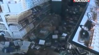 Live Footage Shopping Mall Destroyed | Nepal Earthquake