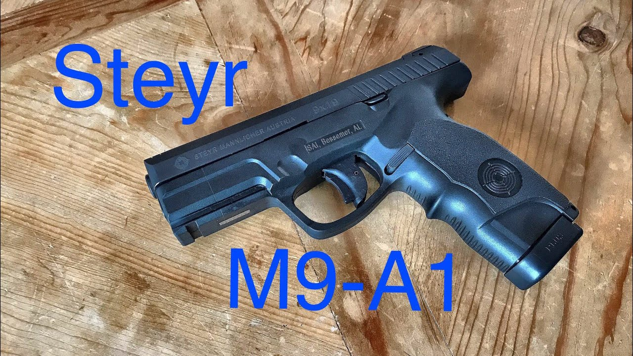 The Steyr M9-A1 - Austrian Polymer Perfection!