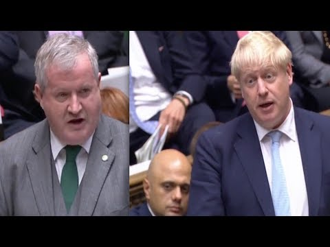 Blackford furious as Boris Johnson's cabinet erupt in laughter at SNP's chief remarks