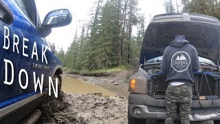 EP:07 WE BROKE THE DODGE - Mudding at McClean Creek, Exploring Elbow Falls, and Family Reunion