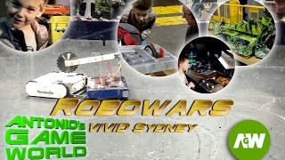 RoboWars Australia: Fighting Robots at VIVID Sydney, Robot Wars Sydney 2016
